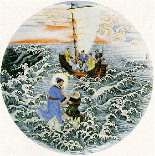 各民族耶稣生平圣像—01中国